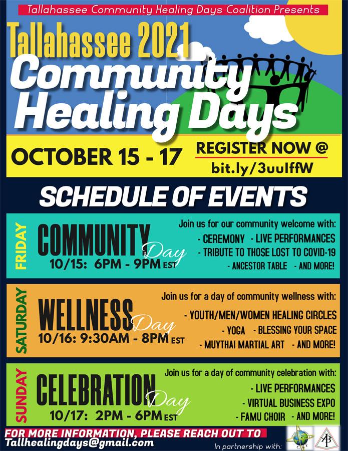 2021 Tallahassee Community Healing Days